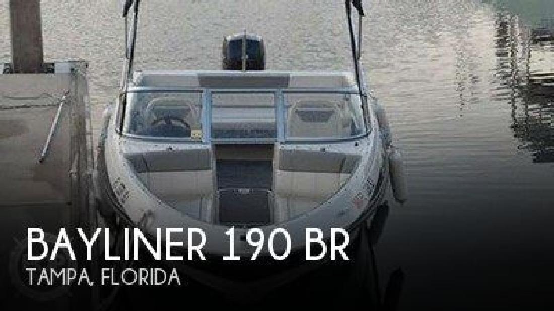 2013 Bayliner 190 BR Tampa FL