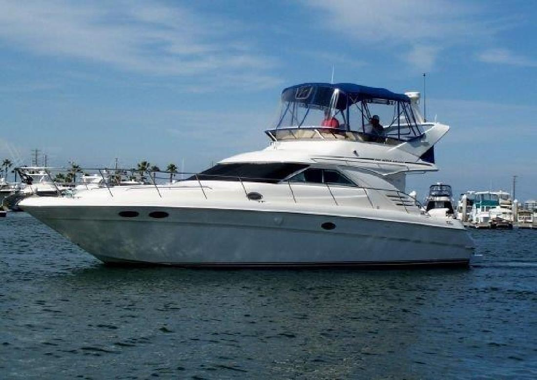 1999 Sea Ray 400 Sedan Bridge Huntington Beach CA