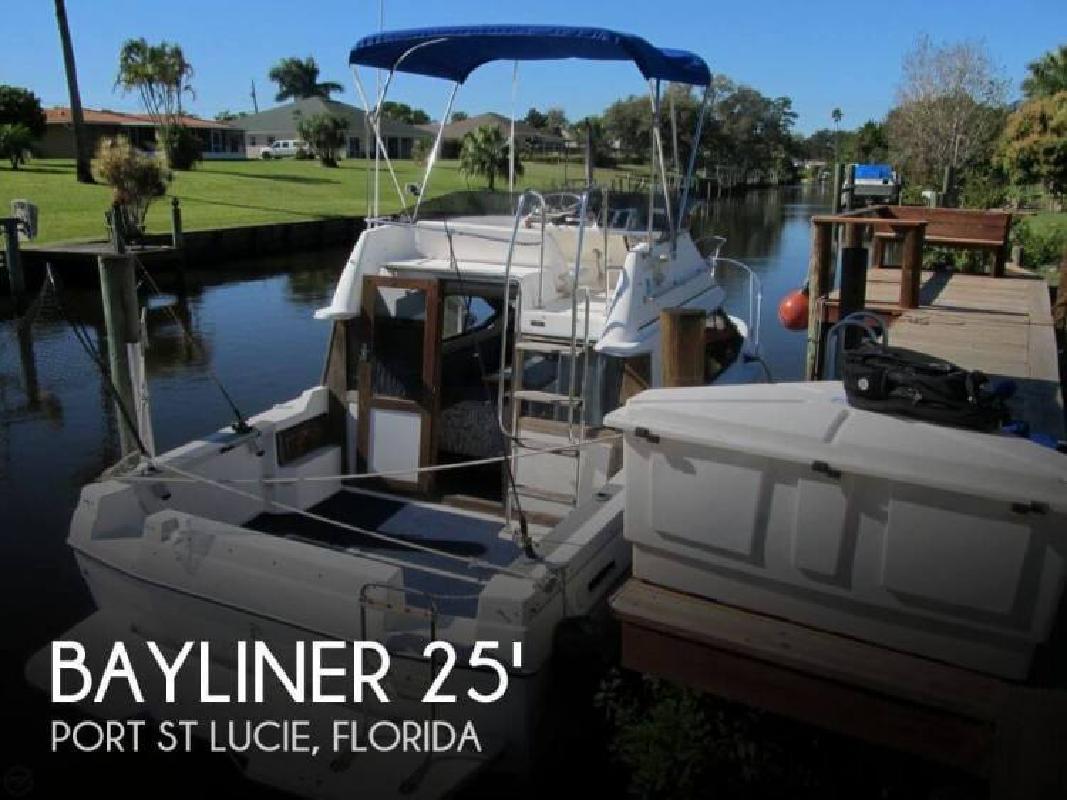 1992 Bayliner 2556 Ciera Command Bridge Port St Lucie FL