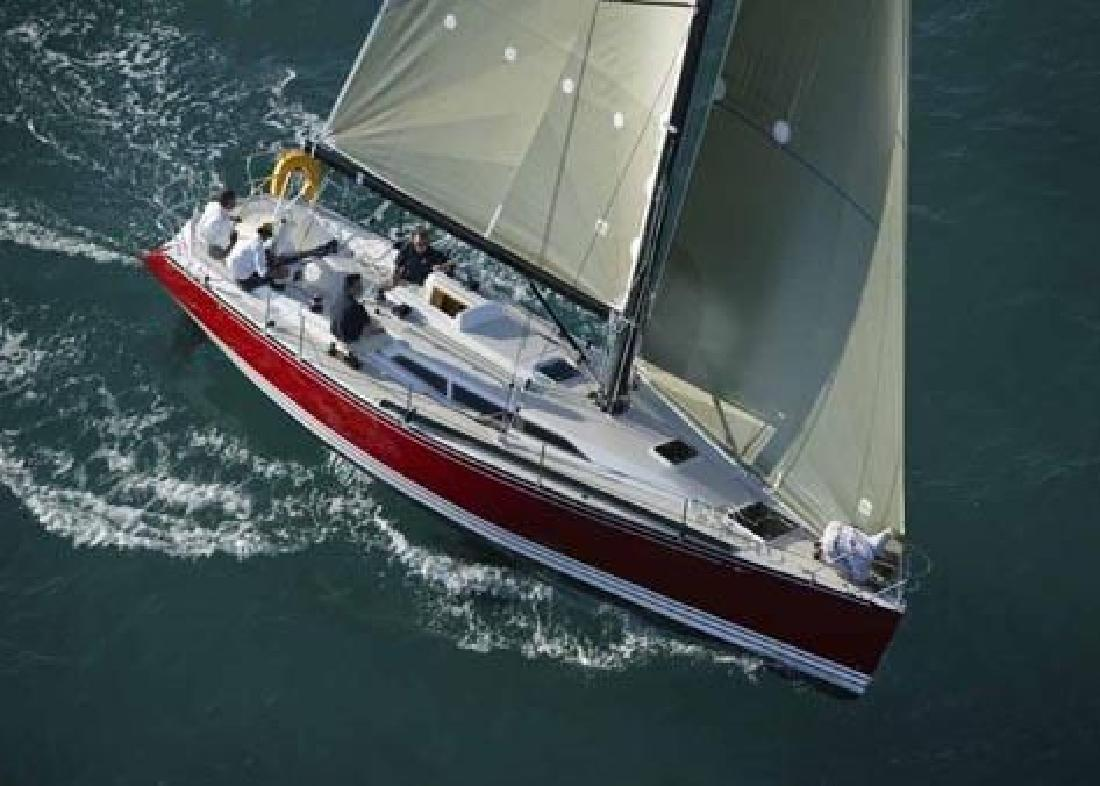 c and c 38 foot sailboat