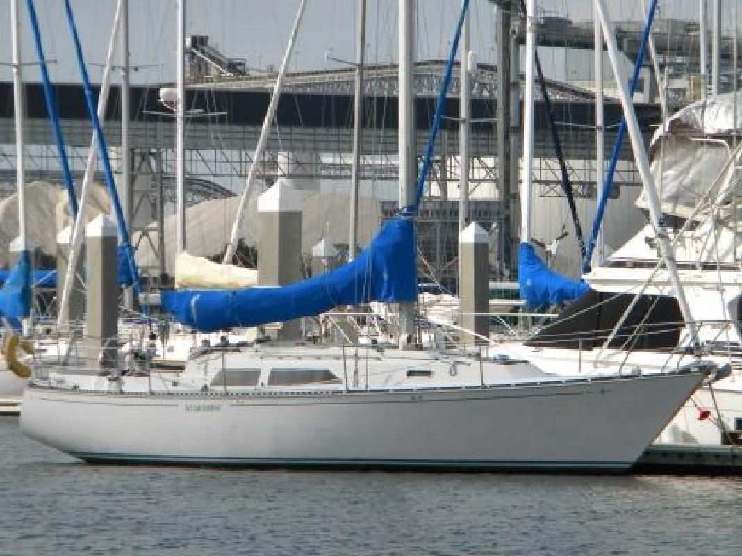 1982 37' C & C YACHTS C&C 37 in Charleston, South Carolina
