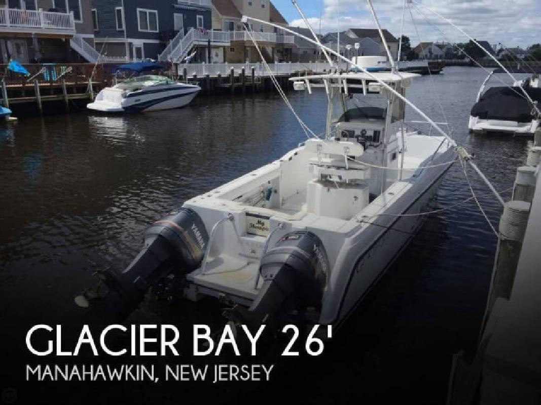 1998 Glacier Bay Boats 26 Canyon Runner Manahawkin NJ
