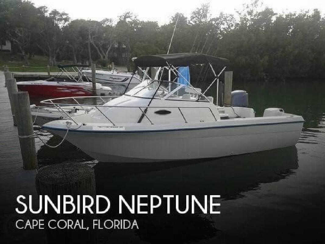 1997 sunbird neptune cape coral fl for sale in cape coral for Cape coral fishing