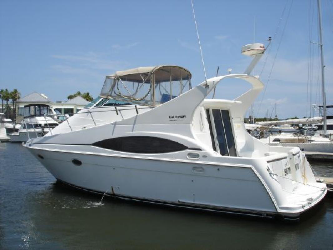 1998 35' Carver Mariner for sale in Daytona Beach, Florida ...