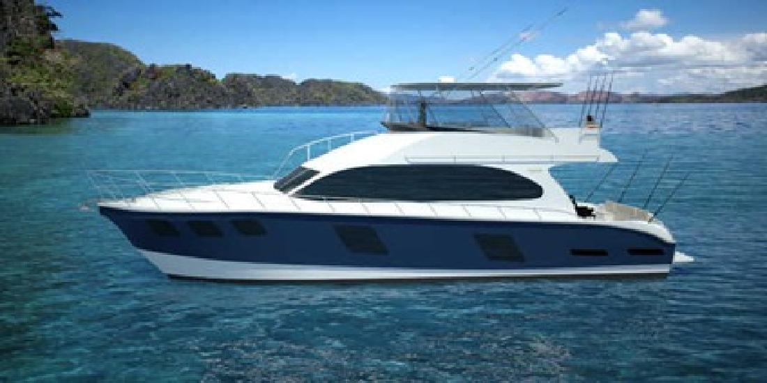 $1,450,000 New 2013 Naval Cat Convertible Motoryacht