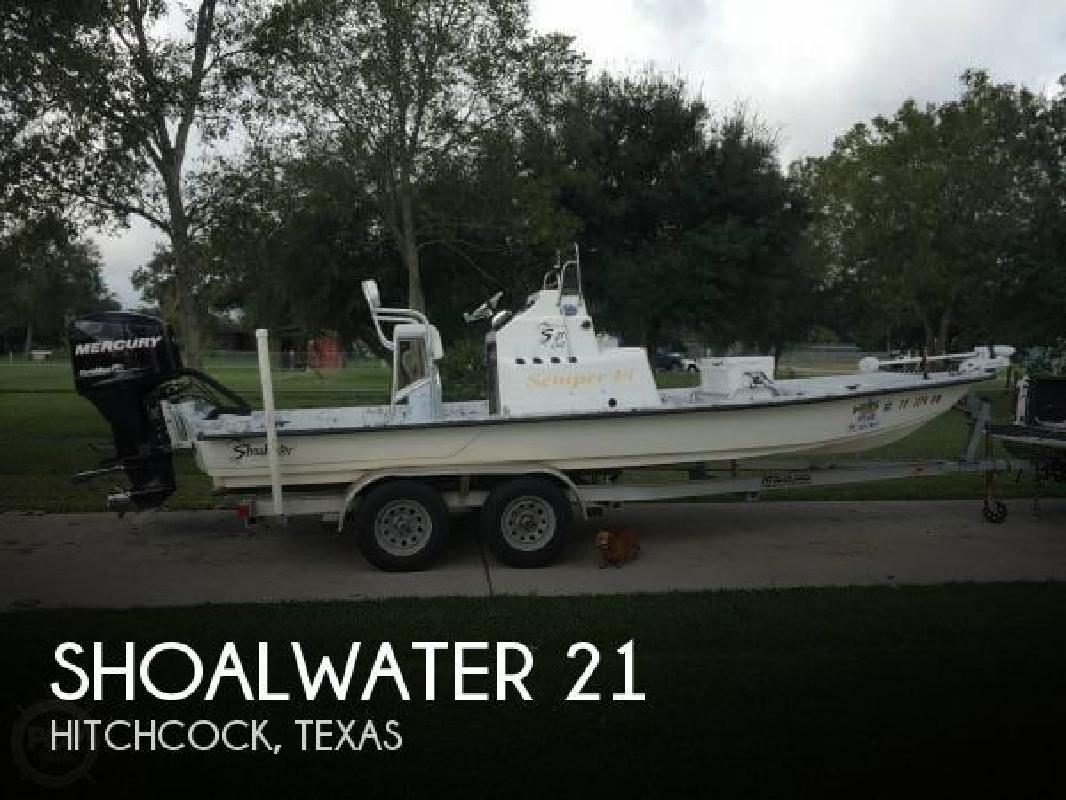 2012 Shoalwater Boats 21 CAT Hitchcock TX