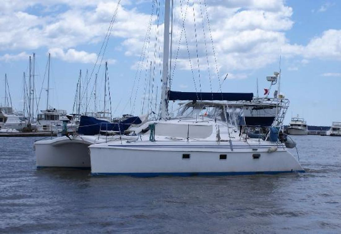1998 Manta 40 Sail Catamaran Charleston SC