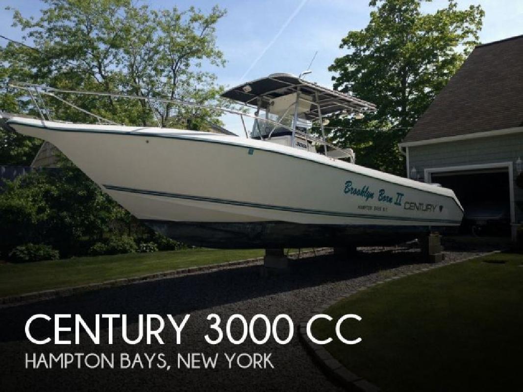 1995 Century Boats 3000 CC Hampton Bays NY