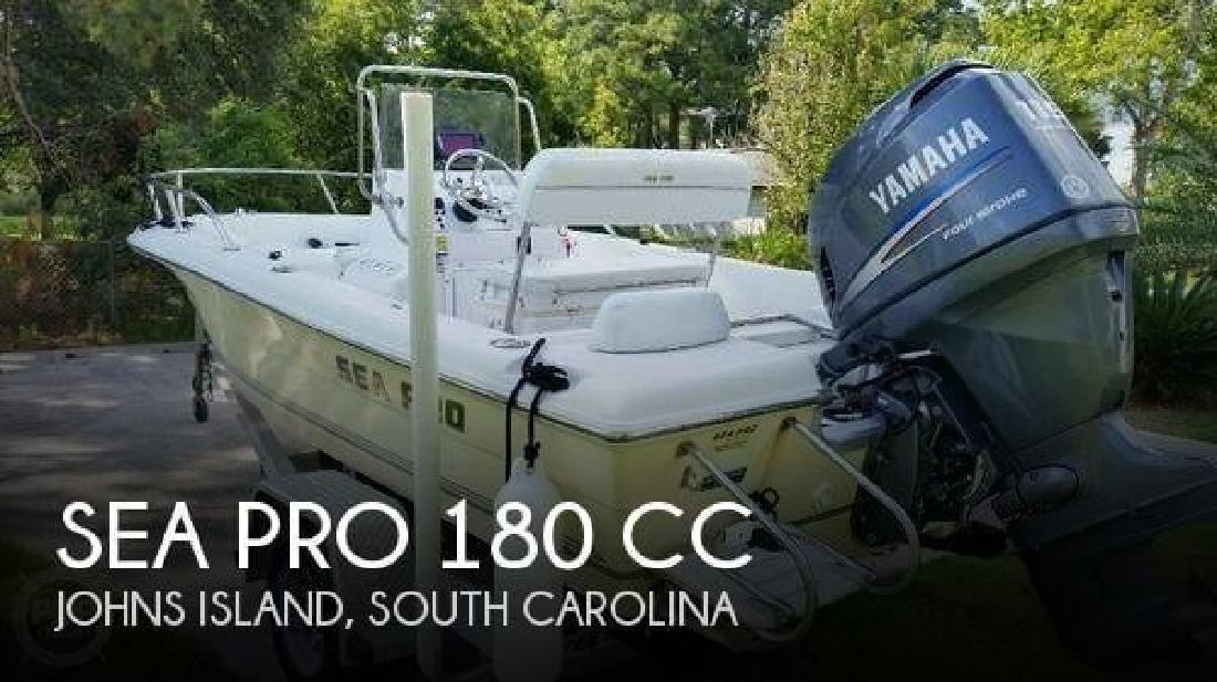2004 Sea-Pro Boats 180 CC Johns Island SC