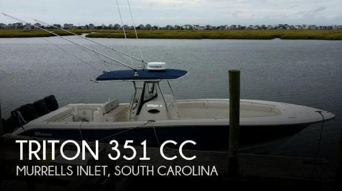 Triton new and used boats for sale for Murrells inlet sc fishing