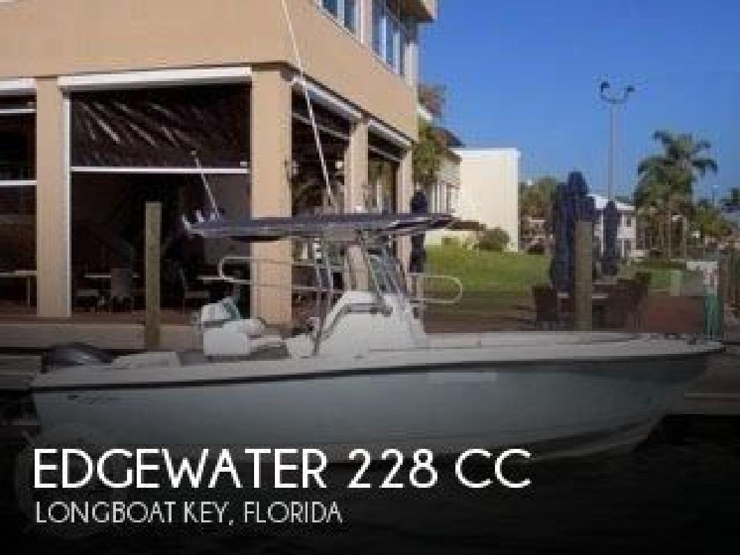 2011 Edgewater Powerboats 228 CC Nokomis FL
