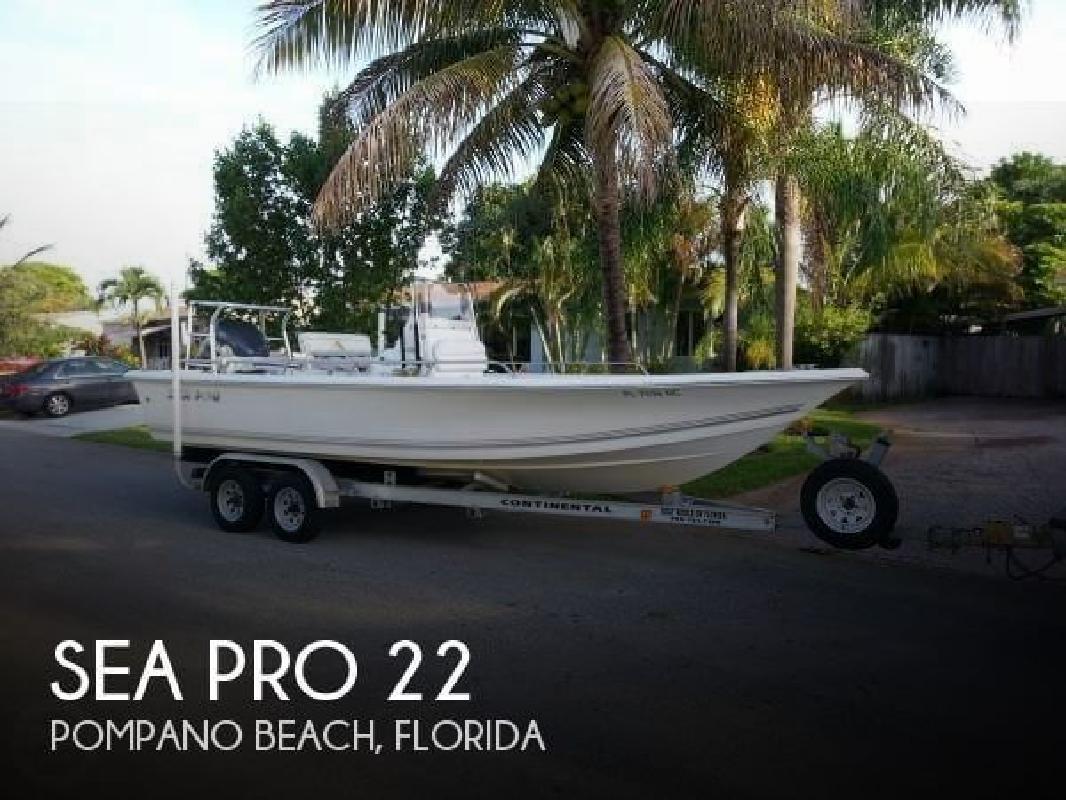 2006 Sea-Pro Boats SV 2100 CC Pompano Beach FL