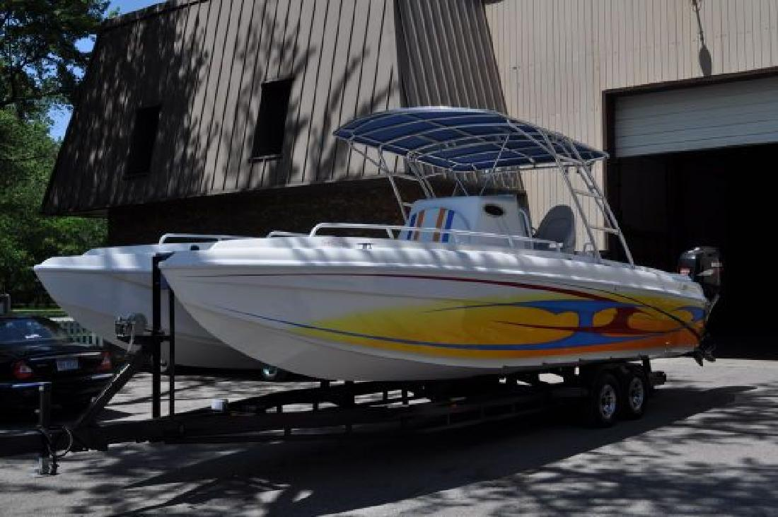 2010 32' Ocean Express 32 CCFS Sport Fisherman (DEMO)