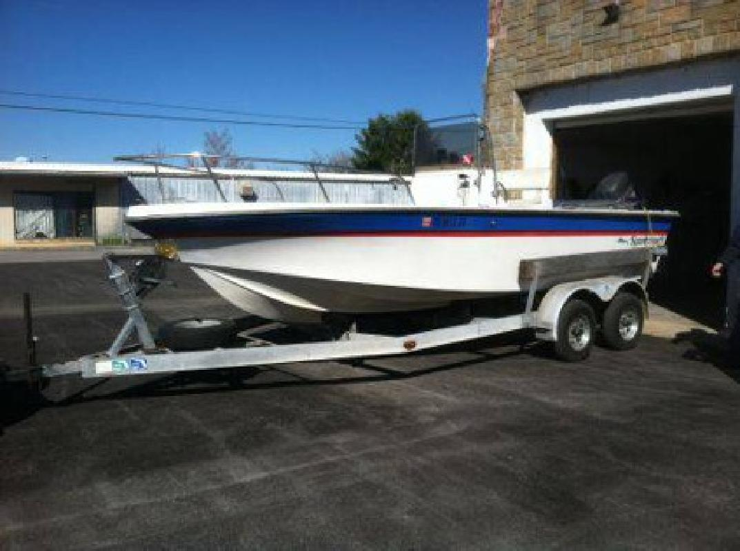 $3,800 1987 20 foot Sportcraft Center console fisher