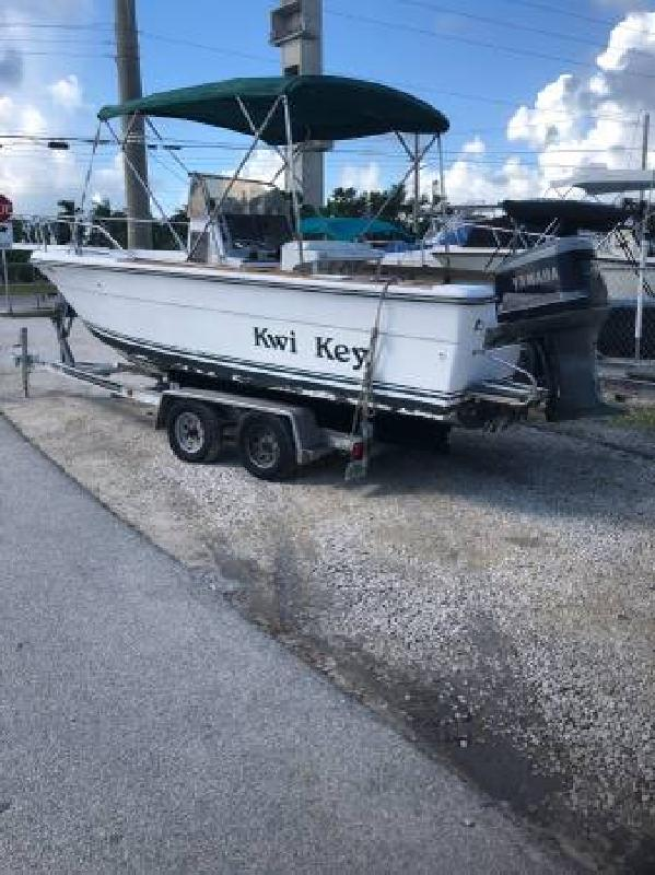 1986 - Pursuit Boats - 2200 Pursuit Center Console in Key Largo, FL