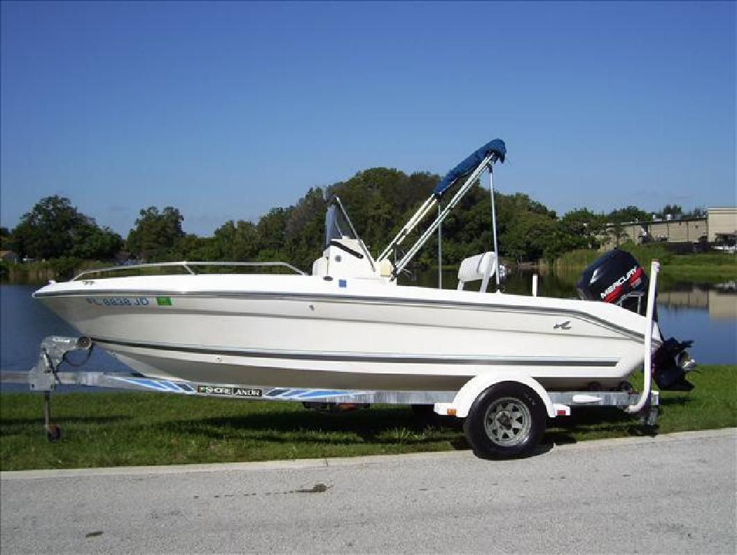 1996 18' Sea Ray Center Console Laguna in Daytona Beach, Florida