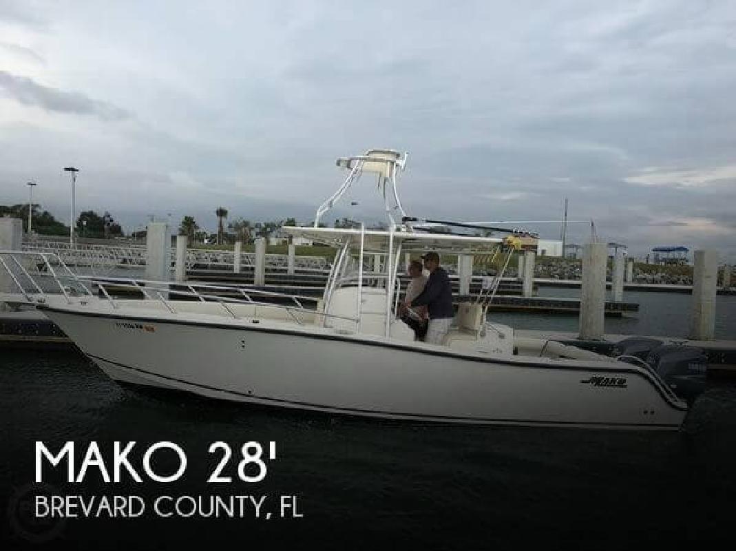 2006 Mako Marine 284 Center Console Stuart FL