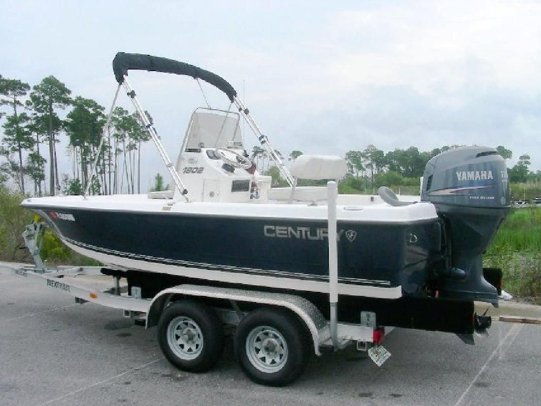 2007 19 Century Boats Century 1902 Inshore For Sale In