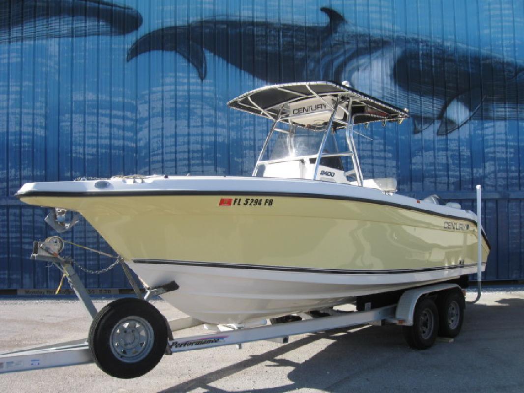 2006 24 Century Boats Century 2400 Cc For Sale In Destin