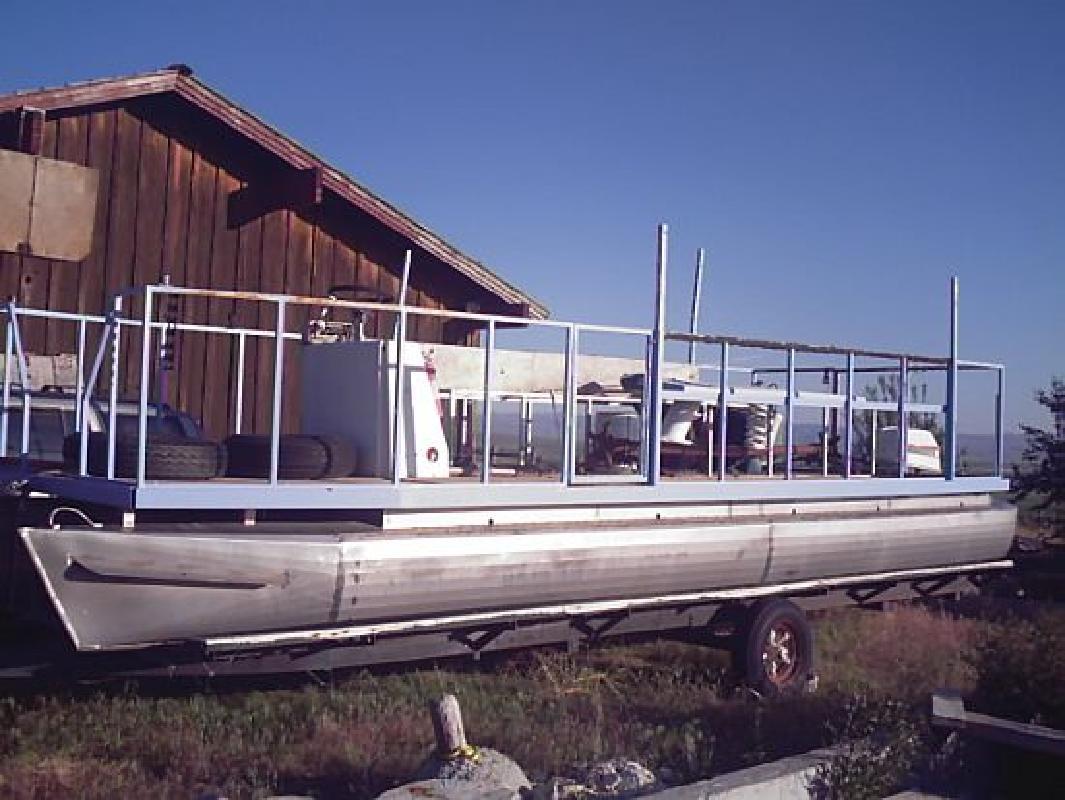 1997 25 Custom Built Cfz Pontoon Party Boat For Sale In Eden Idaho
