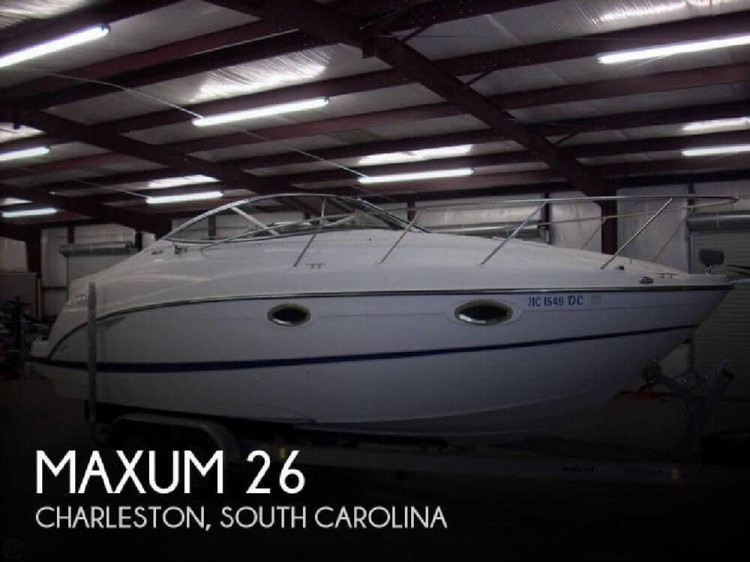2004 Maxum 2500SE Charleston SC