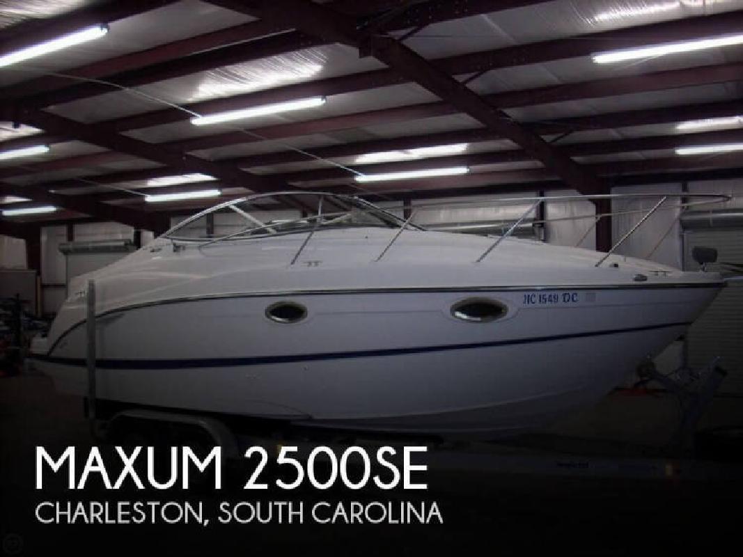 2005 Maxum 2500SE Charleston SC