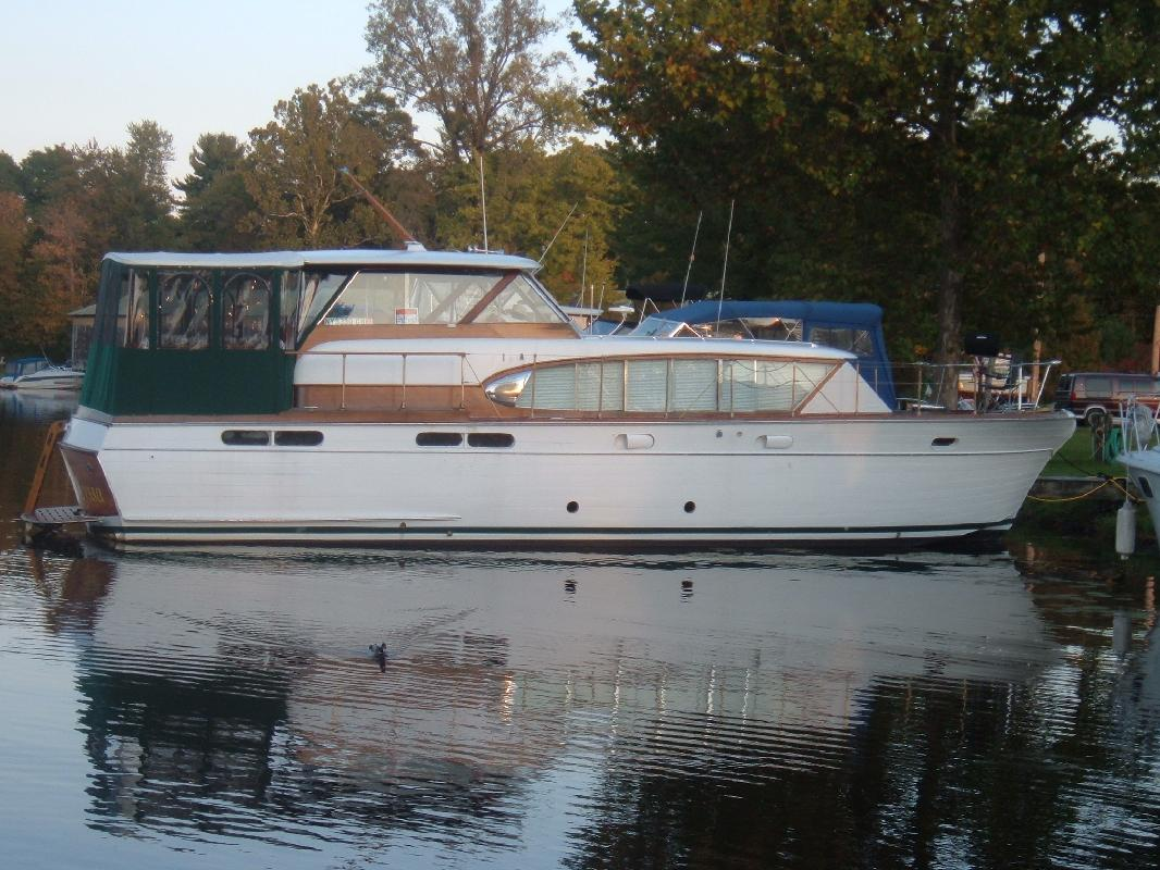 1958 48 39 Chris Craft Constellation For Sale In Syracuse New York All Boat