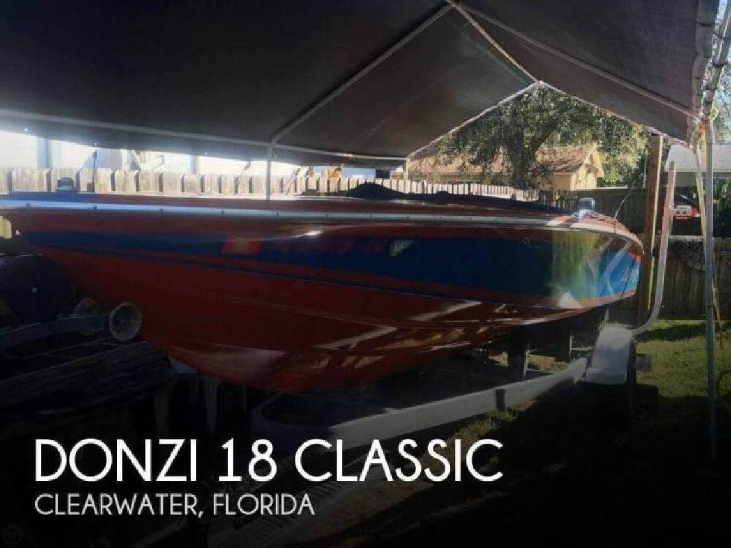 1980 Donzi Marine 18 Classic Clearwater FL