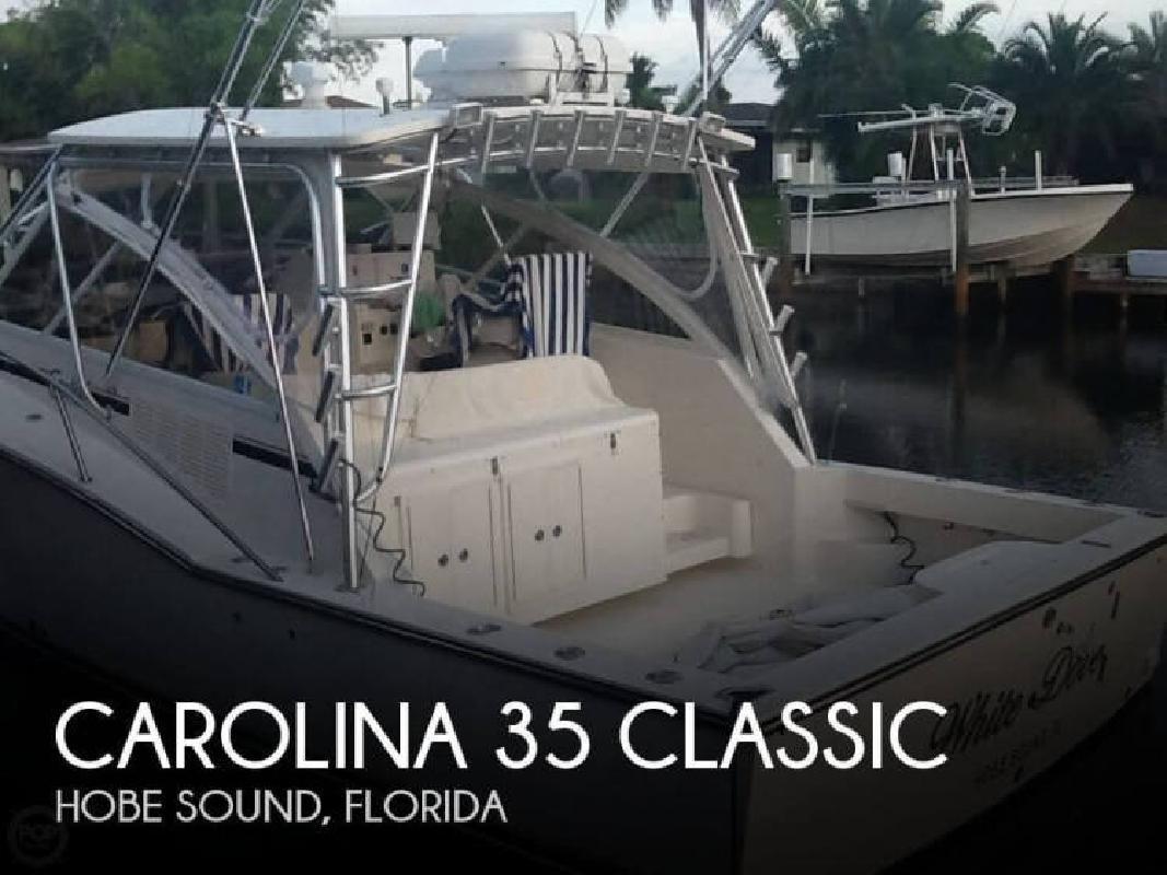 2005 Carolina Classic Boats 35 CLASSIC Hobe Sound FL