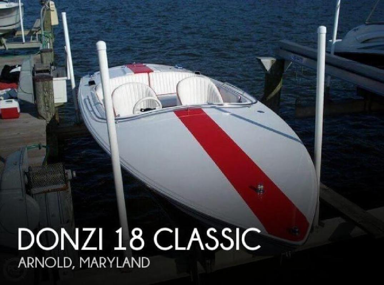 2004 Donzi Marine 18 Classic Prince Frederick MD
