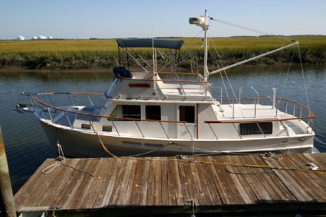 2005 36' Monk Classic Trawler