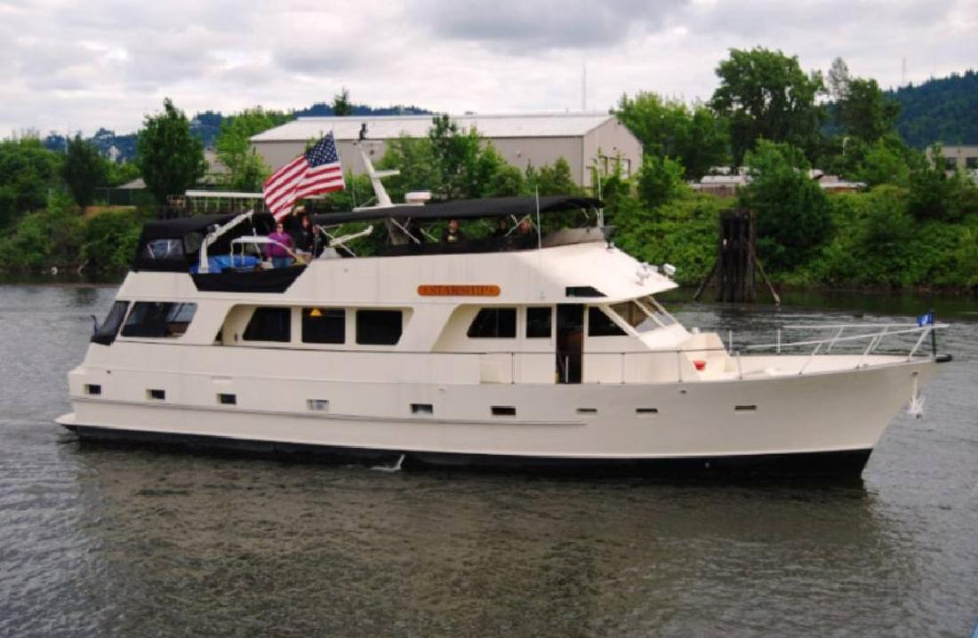 Classic wooden motor yacht for sale florida