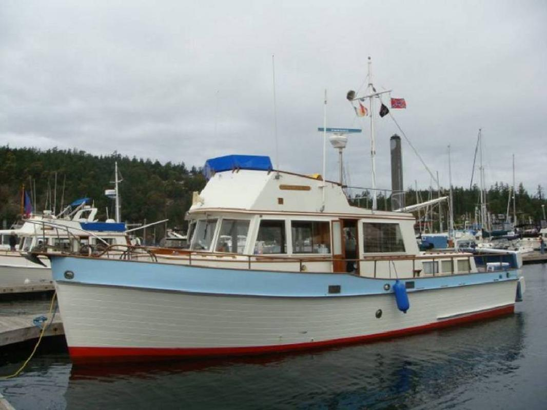 1969 42' Grand Banks 42 Heritage Classic Wooden Trawler Motor Yacht in ...