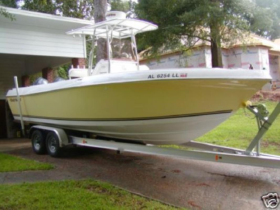 2007 25' Clearwater 2500WI