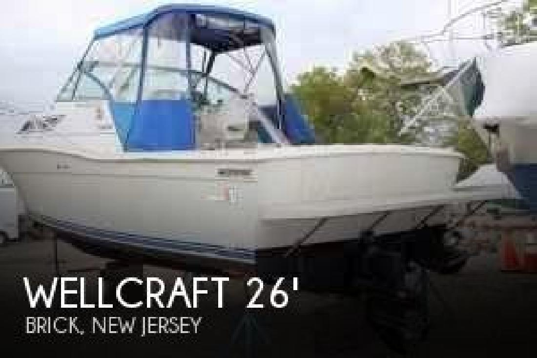 1990 Wellcraft Marine 2600 Coastal Brick NJ