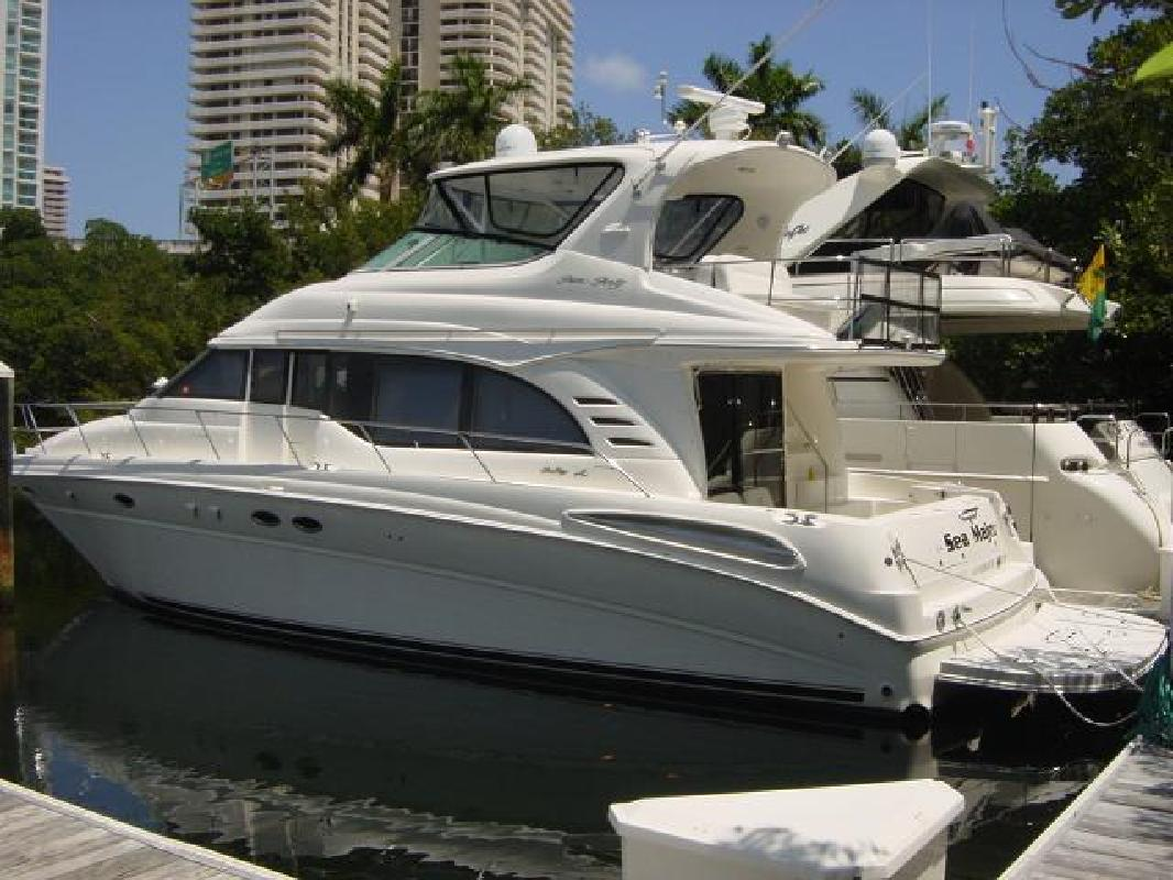 2001 54 39 sea ray cockpit motor yacht for sale in aventura for Sea ray motor yacht for sale