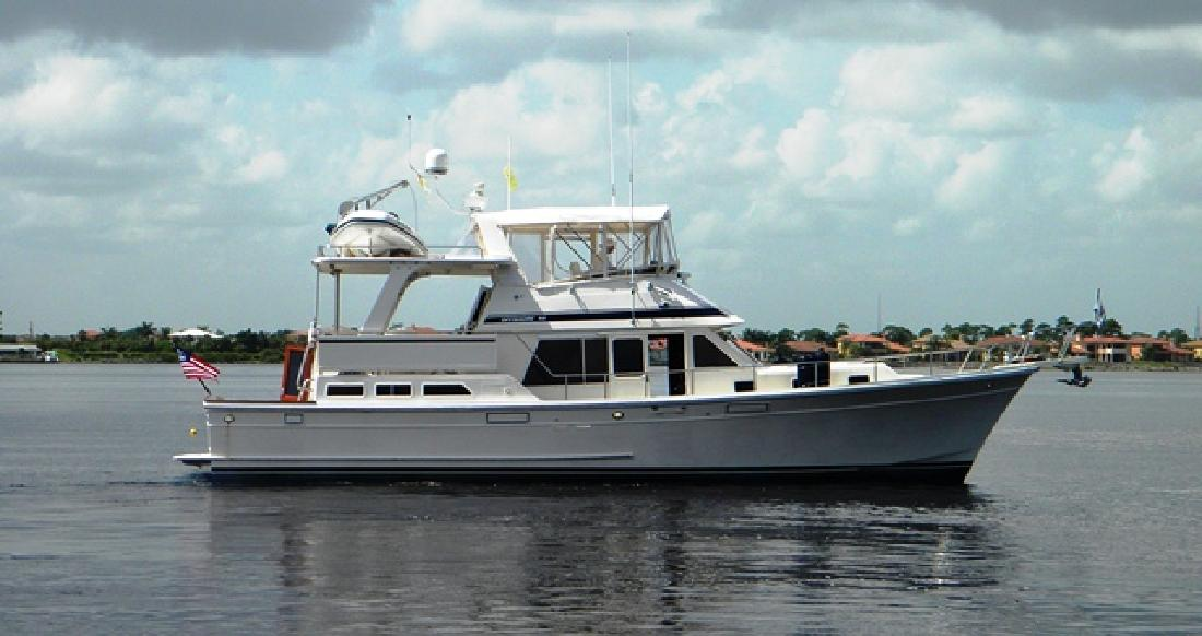 1988 48 39 Offshore Marine Cockpit Motor Yacht For Sale In