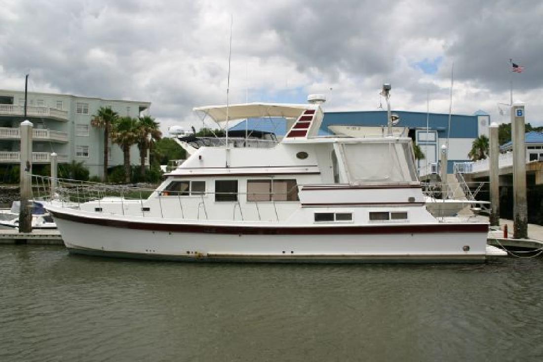 1986 50' Bestway 50 Cockpit Motor Yacht