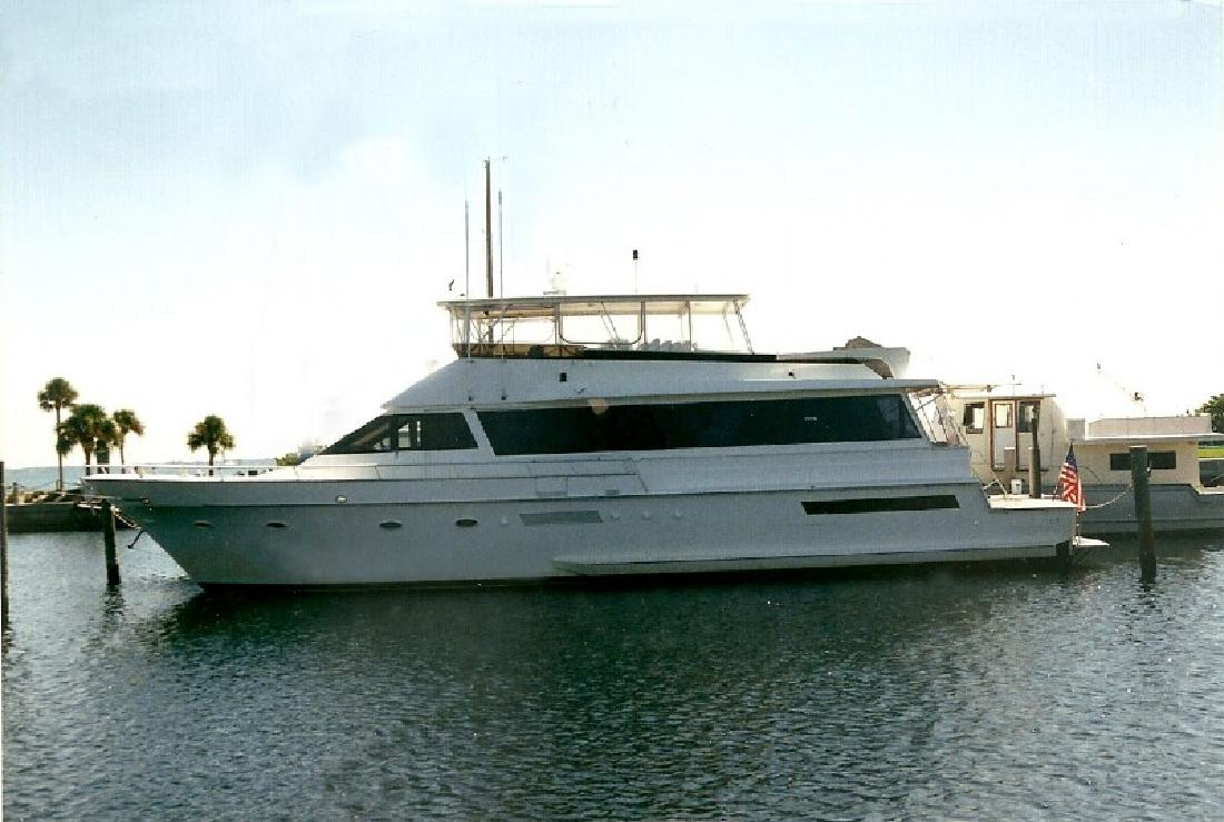 1991 72 39 Viking Yachts Cockpit Motor Yacht For Sale In