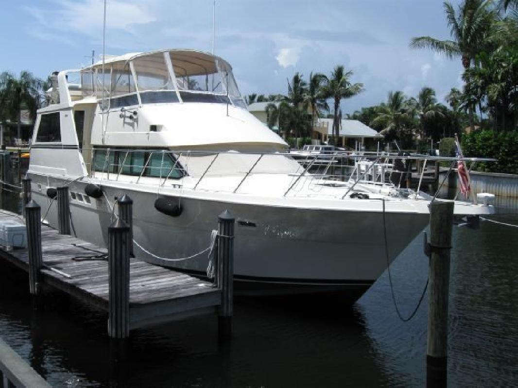 1991 52' Hatteras Yachts 52 Cockpit Motor Yacht, Trades Accepted