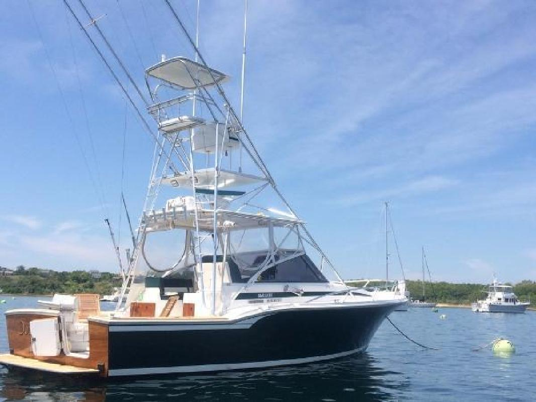 1996 Blackfin 31 Combi Mystic CT