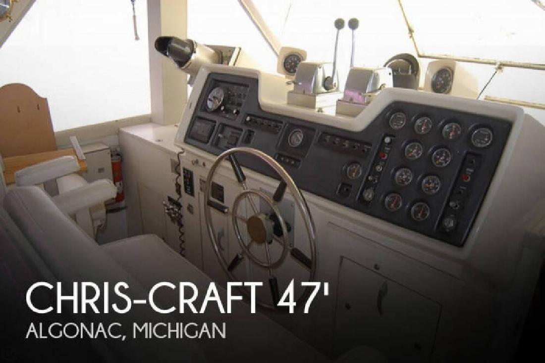 1972 Chris Craft 47 Commander Algonac MI