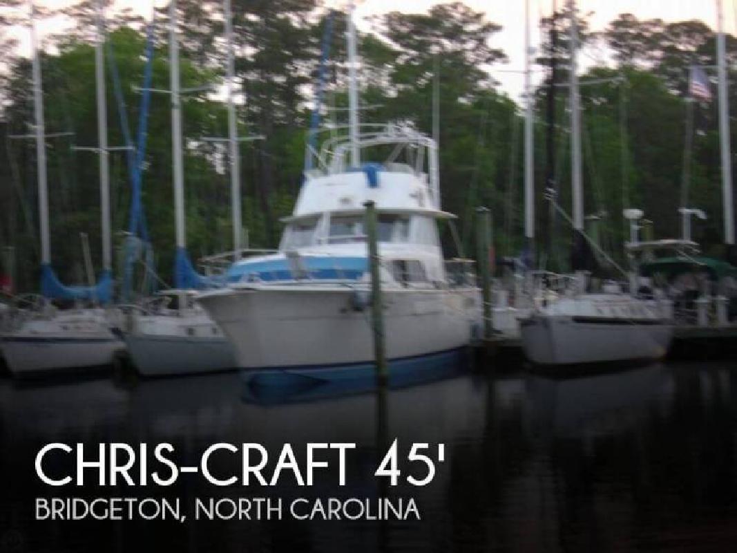 1977 Chris Craft 45 Commander Bridgeton NC