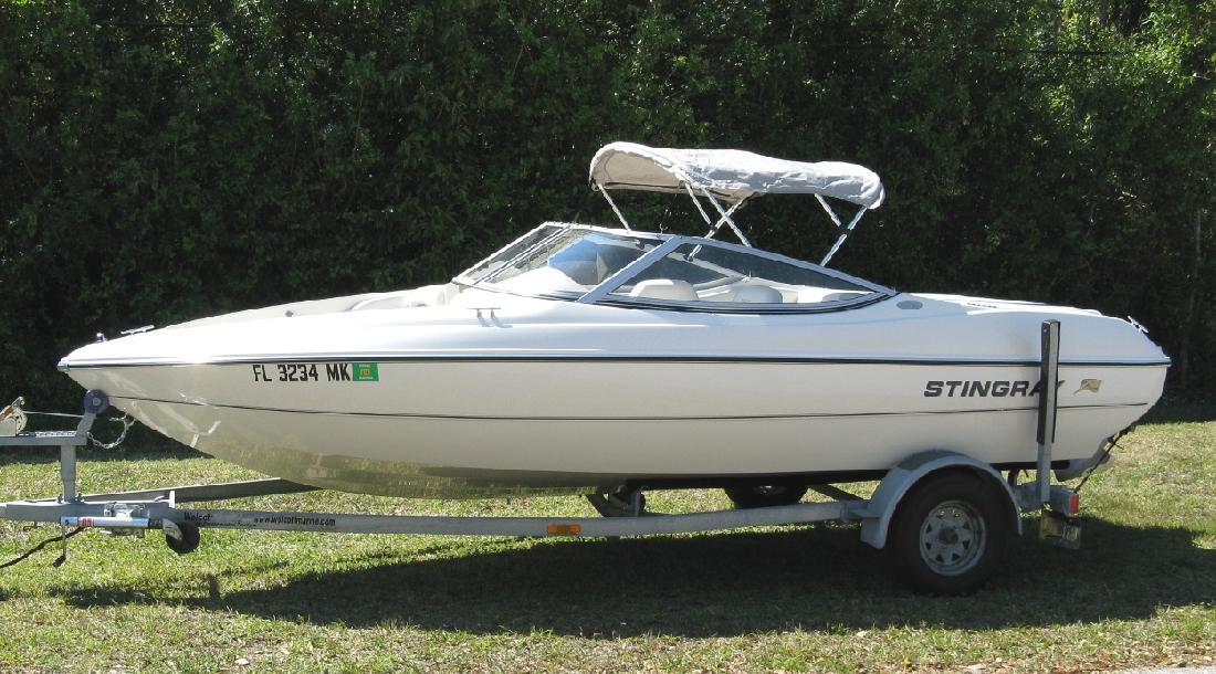 2004 18 Stingray Boat Company 180 Rx Bowrider For Sale In