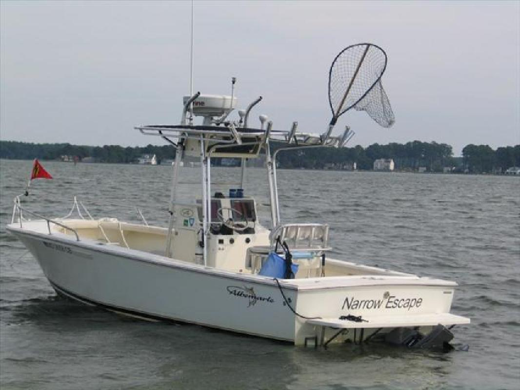 2006 24' Albemarle Boats 242 Center Console (Diesel! Loaded!
