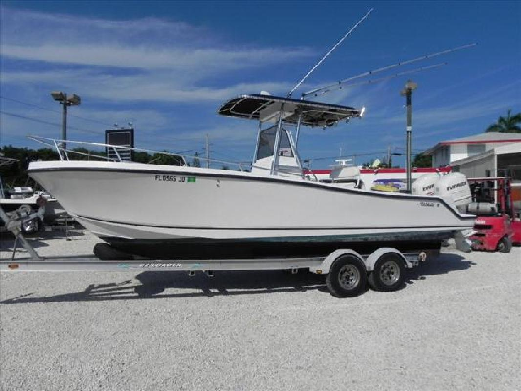 1996 26' Mako Marine International center console fish boat 26 Center in Key ...