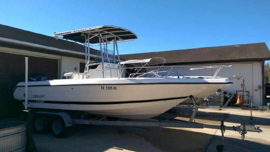 2000 century 2100 center console leesburg fl for sale in for Century motors of south florida