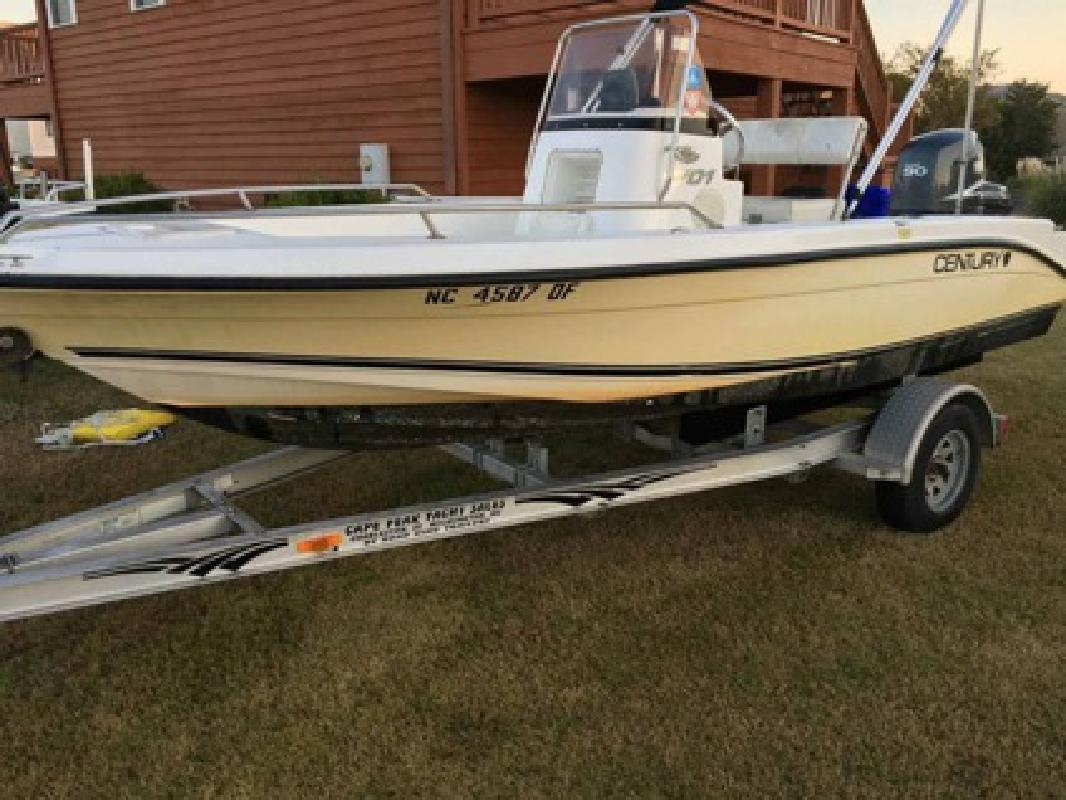$4,900 2005 Century 1701 Center Console with 90 Yamaha