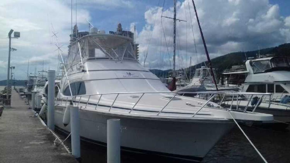 2001 Bertram Yacht 510 Convertible Delray Beach FL