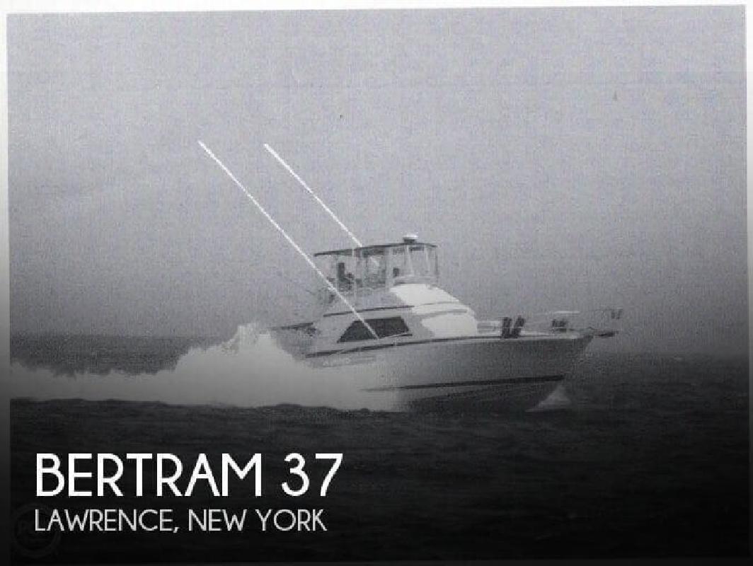 1987 Bertram Yacht 37 Convertible Lawrence NY